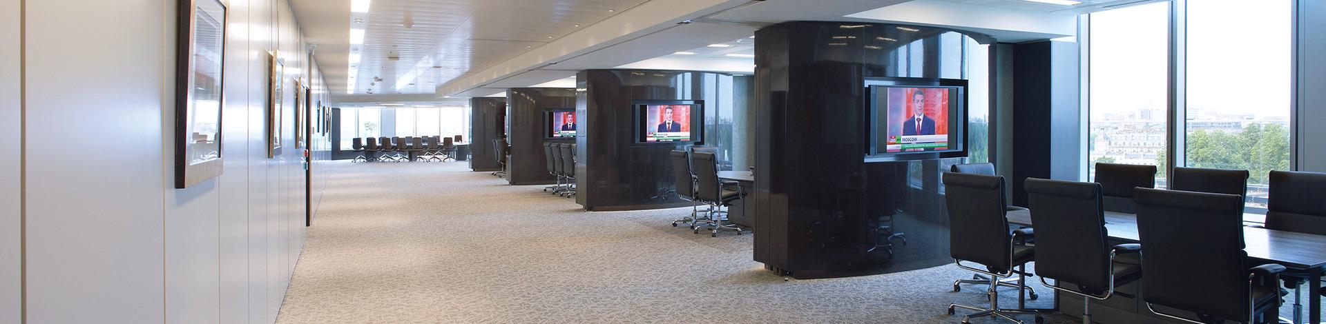 Trennwand Systeme Wande Raumteiler Schallschutz Losch Wandsysteme